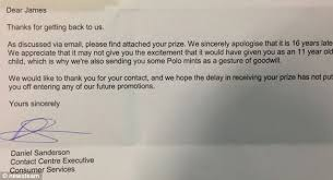 polo mint payout nestle pays 10 to schoolboy who found green