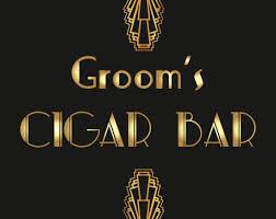 themed signs 4 gatsby themed wedding signs cigar bar dessert bar