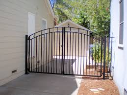 unique metal gates with wrought iron fence 3 foot tall 25
