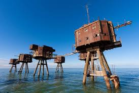 deserted places maunsell forts the abandoned sea forts from