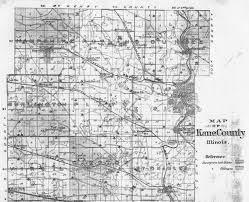 County Map Of Illinois Kane County Ilgenweb History Genealogy
