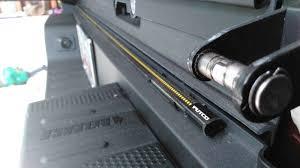 putco switch blade led tailgate light bar honda ridgeline owners