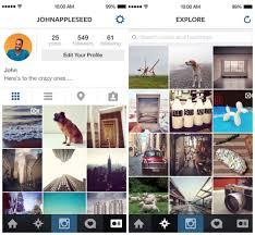 download instagram layout app instagram launches ios 7 app