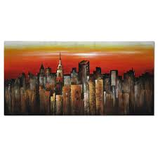 wall art decor home accents american signature furniture orange city canvas print