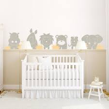 Best Wall Decals For Nursery by Baby Nursery Attractive Baby Room Decoration With Dark Brown Crib
