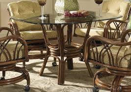 Unique Dining Room Trend About Wicker Glass Top Dining Table Table