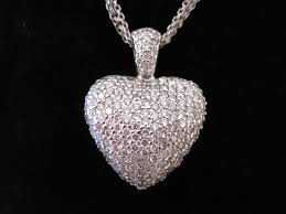 urn pendants 14k white gold diamond heart urn pendant memorial urn jewelry
