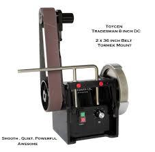 toycen tradesman 8 inch with 3 x 36 inch belt tradesman grinder