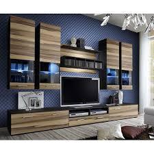 meuble cuisine wengé meuble tv mural design dorade 300cm noyer wengé