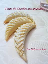 de cuisine hanane corne de gazelle de hanane dans patisserie algérienne et orientale