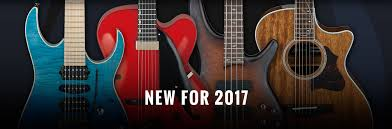 new gear for 2017 ibanez guitars