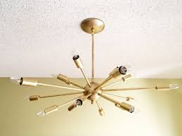 Sputnik Ceiling Light Atomic 18 Arm Sputnik Starburst Ceiling Light Ceiling Lights