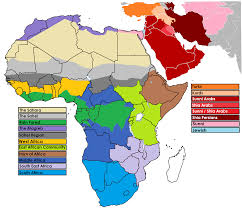 Africa Middle East Map by World Sub Saharan Africa Sparksintexas