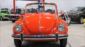 orange volkswagen beetle 1978 vw beetle orange youtube