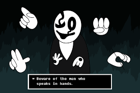 gaster the who speaks in w d gaster animated by linkniak on deviantart
