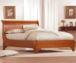 Cheap Sleigh Bed Frames Amazing Sleigh Bed Frame In Stratford Cherry Makore Charles P
