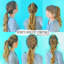 quick and easy hairstyles for running 6 quick and easy sporty athletic workout hairstyles hairstyles