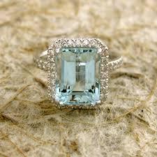 light diamond rings images Sky blue green aquamarine engagement ring in k ringscollection jpg