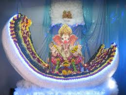 make thermocol temple for ganpati diy thermocol mandir for ganpati