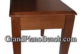 Baldwin Piano Bench - jansen grand piano bench wood top