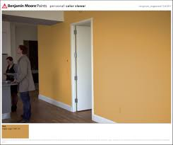 What Color Goes With Orange Walls What Color Would You Go With Big Wall In Condo Home Interior