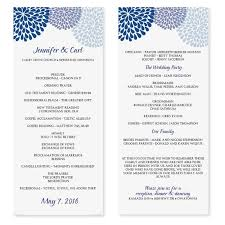 party program template fundraising event program template template s