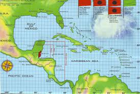 A Map Of The Caribbean by Caribbean Hurricane Belt The Best Belt Choose