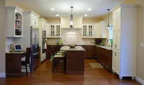 how to paint stained kitchen cabinets white wood stain lower painted white kitchen cabinets two