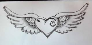 pictures of hearts with wings 66