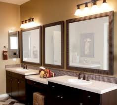 Unique Bathroom Mirror Frame Ideas Bathroom Vanity Lighting Framed Bath Mirrors Window Mirror Large