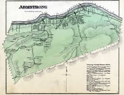 Armstrong Map Lycoming Co 1873 Atlas