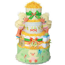 twins ducks diaper cake 182 00 diaper cakes mall unique baby