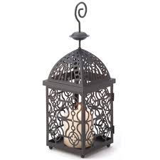wholesale stylish intricate scroll design moroccan candle lantern