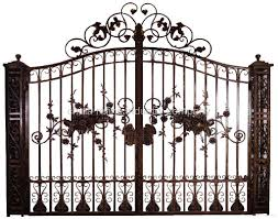 ornamental steel gate wlw018 refine china manufacturer