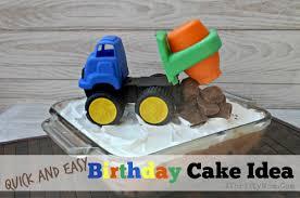 quick easy birthday cake idea