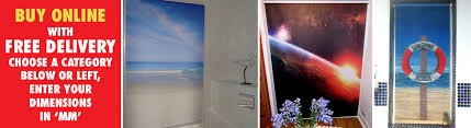 Make Your Own Roller Blinds Printed Picture Photo Roller Blinds Digitally Printed Photo