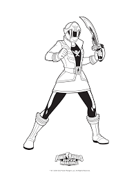 free printable power rangers coloring pages kids turbo pink