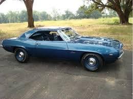 dusk blue camaro ebay find factory original numbers matching 69 427 copo camaro