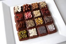 cuisine christophe lovely decoration for brownies 1 decoration for brownies by