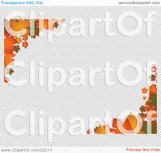 clipart picture of autumn leaves in orange and yellow hues on the