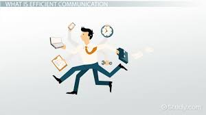 what is efficient communication definition u0026 skills video