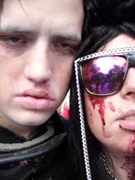 halloween makeup blood trina is artsy fartsy october 2011