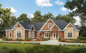 House Plans One Level by One Level Luxury Craftsman Home 36034dk Architectural Designs