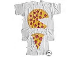 matching pizza shirts dad u0026 baby shirts dad and son matching