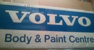 volvo address huge volvo illuminated sign hg automobilia