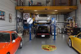 porsche garage art garages of texas