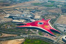 ferrari building abu dhabi u0027s ferrari world to have two new rides this year travel