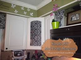 Kitchen Glass Door Cabinet Customize Your Home With Diy Projects And Mod Podge Simple 2