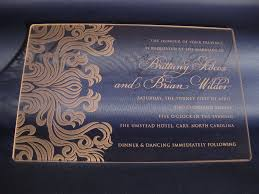 acrylic wedding invitations laser engraved lucite acrylic wedding invitations