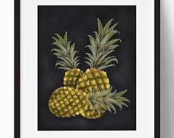 Pineapple Home Decor Cute Pineapple Etsy